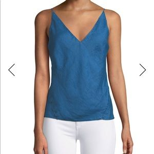 J Brand Lucy Chambray Tank/Camisole